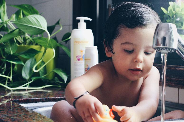 Tips para mejorar la piel de tu bebé
